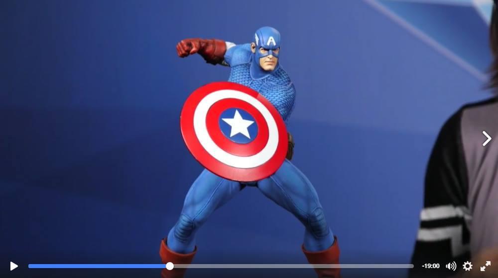CAPTAIN AMERICA– Avengers Assemble Statue 15194310
