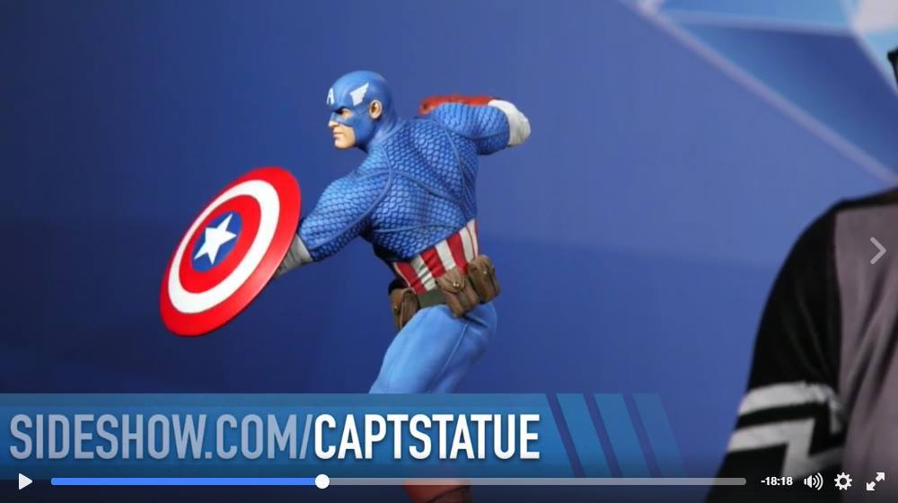 CAPTAIN AMERICA– Avengers Assemble Statue 15194411