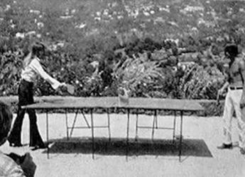 1970 - Françoise Hardy et Jacques Dutronc à Port Grimaud B11