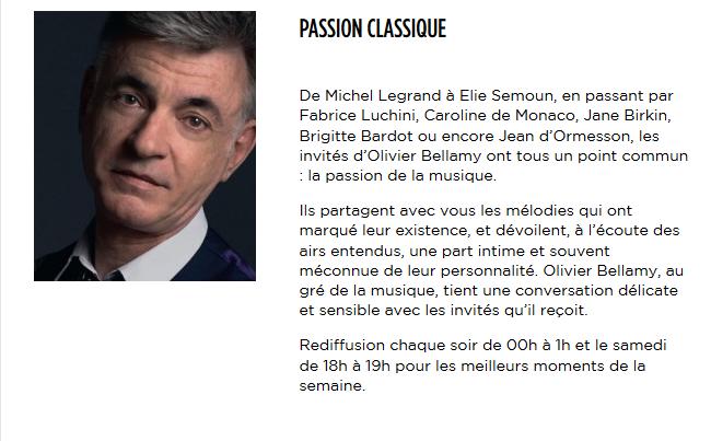 2 janvier 2017 - Passion Classique (Radio Classique) Captur39