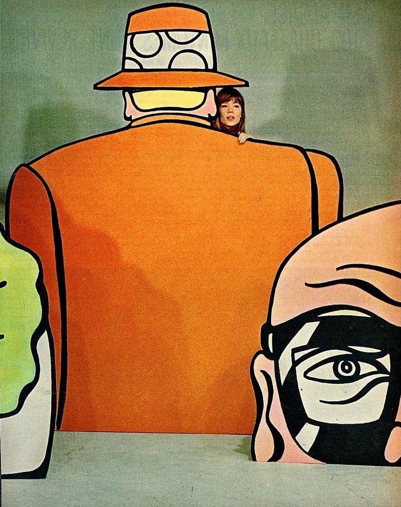 Juin 1967 - Article sur les Vénusiennes (Télé 7 jours) Vynu110