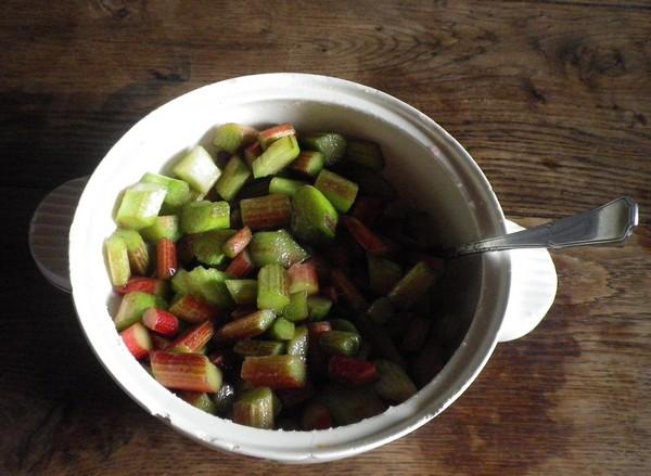 Compote et tarte à la rhubarbe !!! 29062013