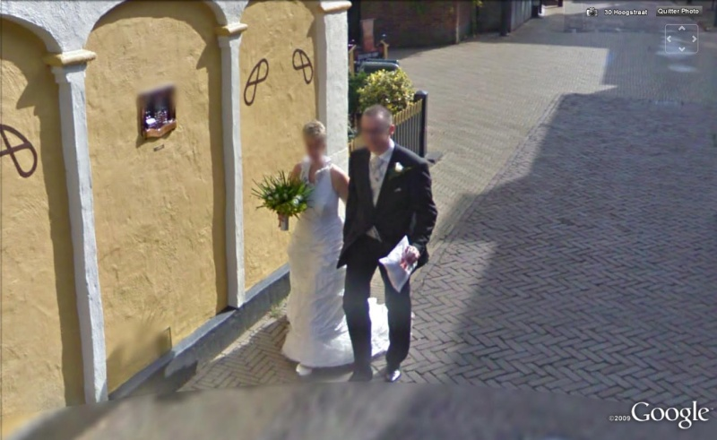 STREET VIEW, Vive les mariés, Harderwijk, Pays-Bas, Europe Marias10