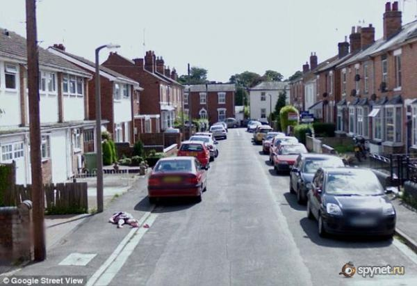 STREET VIEW, Crime, Worcester, Angleterre Untitl10