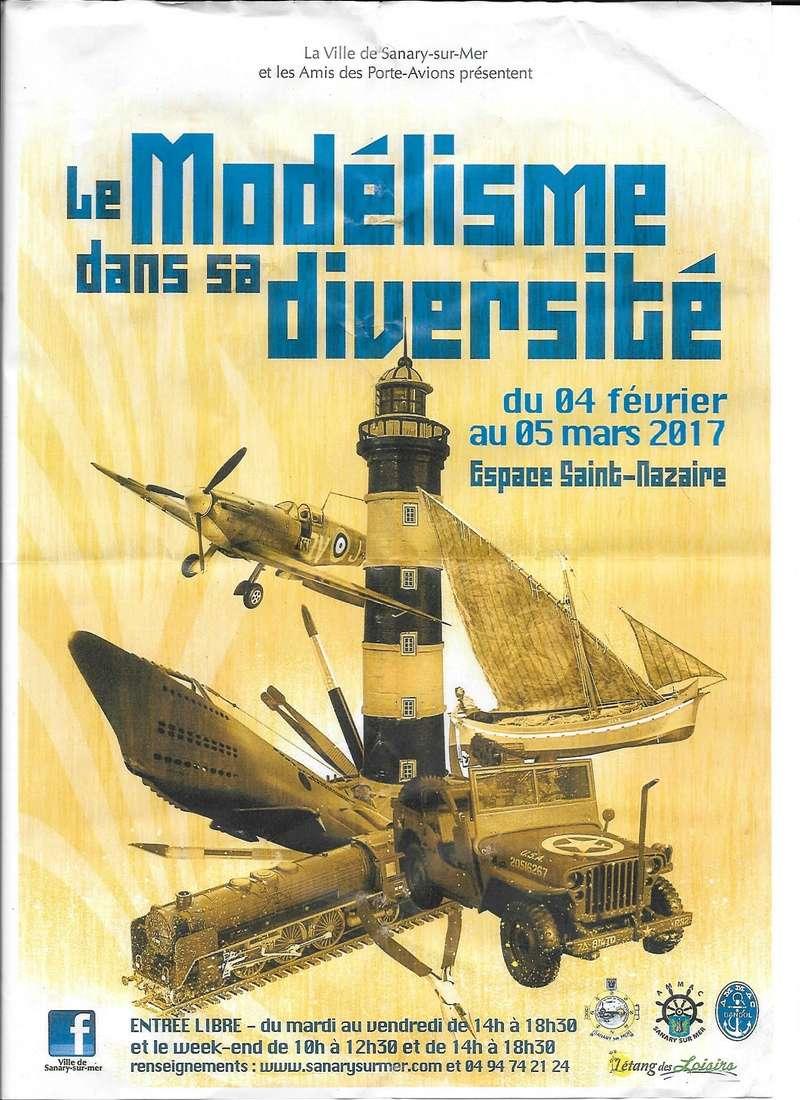 Salon du Modélisme à Sanary s/mer (83) Affich10