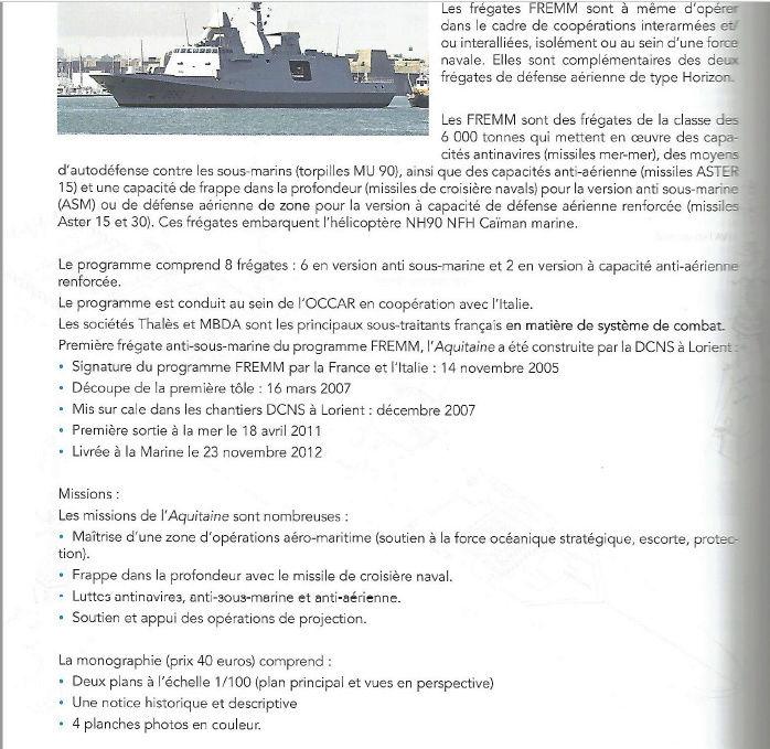 FREMM   Aquitaine au 1/100 ème par chienjaune - Page 14 Monogr12
