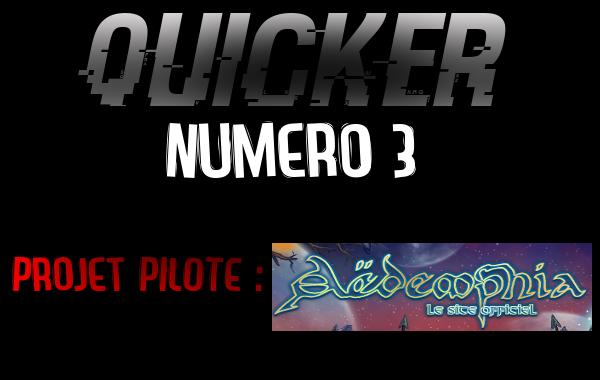 QUICKER 3 - Projet Aëdemphia Aedemp11