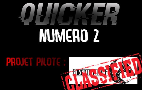 Résultats - Quicker 2 - Projet Forgotten Face Forgfa10