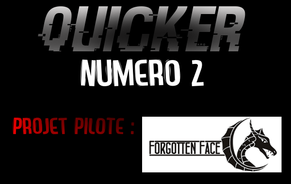 QUICKER 2 - Projet Forgotten Face Forgot10