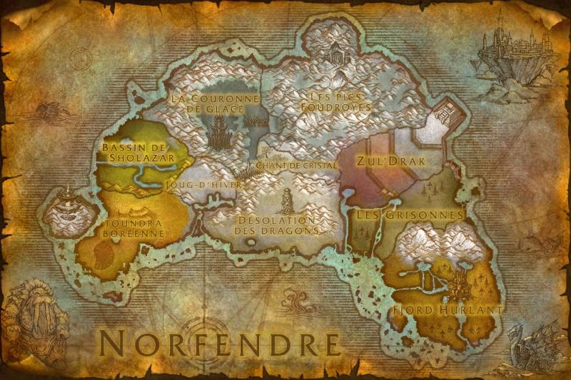 """Le continent de Norfendre, ou """"Toit du monde"""" 0310"""