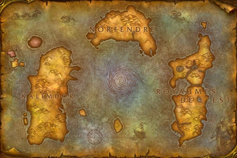 """Le continent de Norfendre, ou """"Toit du monde"""" 1310"""