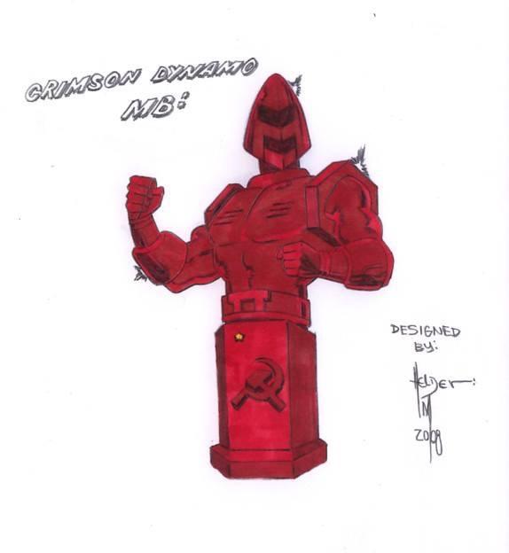Crimson Dynamo Classic Image152