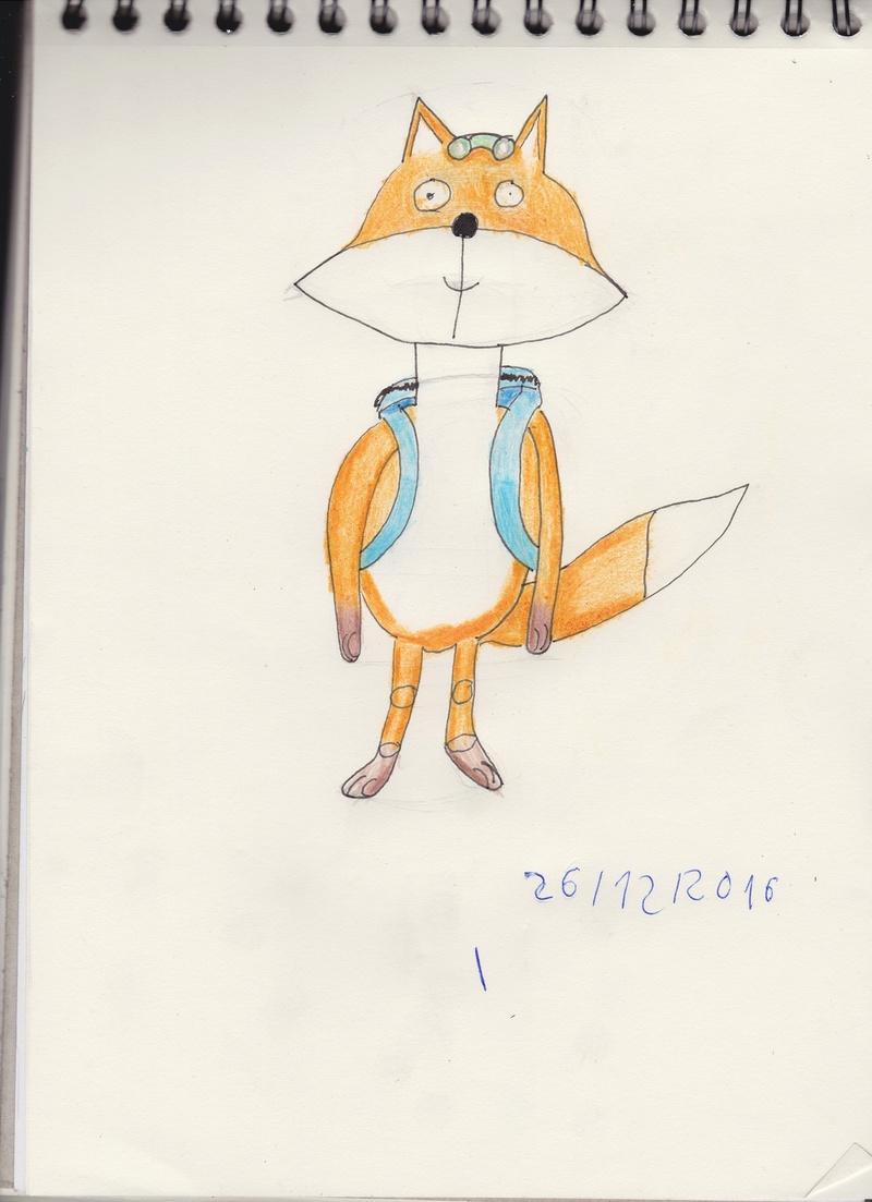 Voila mes dessin finir (Math) Renard11