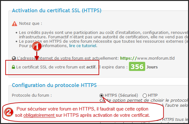 Certificat SSL : Guide d'un passage réussi du forum en HTTPS 09-02-10
