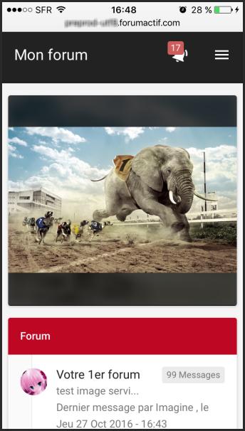 Les petites annonces et la bannière mobile arrivent sur la version mobile moderne des forums Forumactif Img_6210