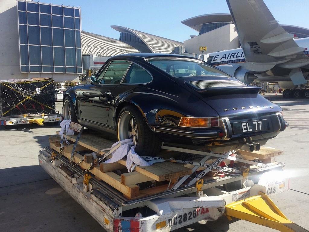Porsche by plane 15384612