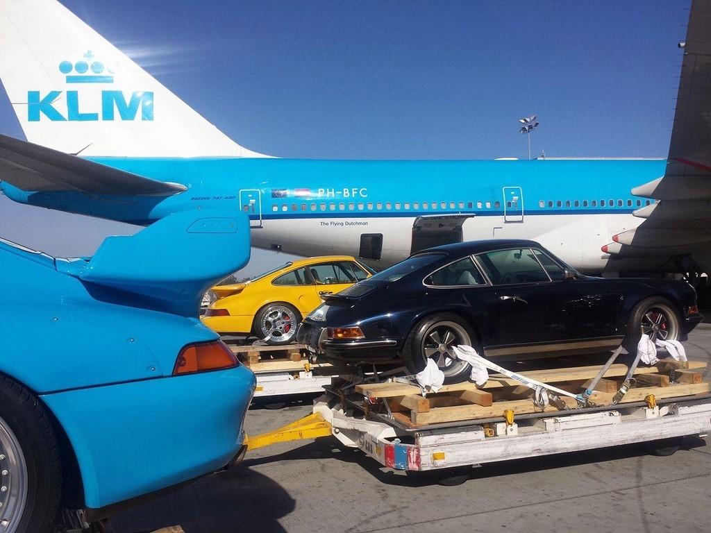 Porsche by plane 15419612