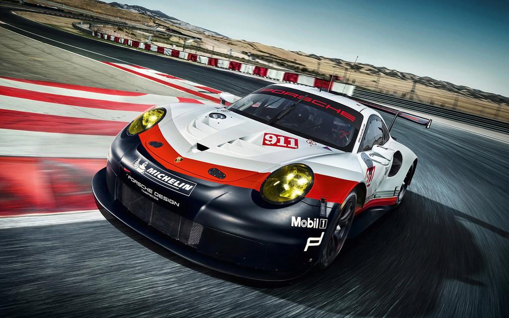 Porsche 911 RSR 2017 :une 911 à moteur central pour les 24h  2017-p34