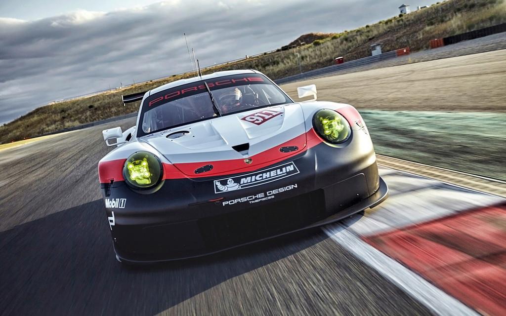 Porsche 911 RSR 2017 :une 911 à moteur central pour les 24h  2017-p36