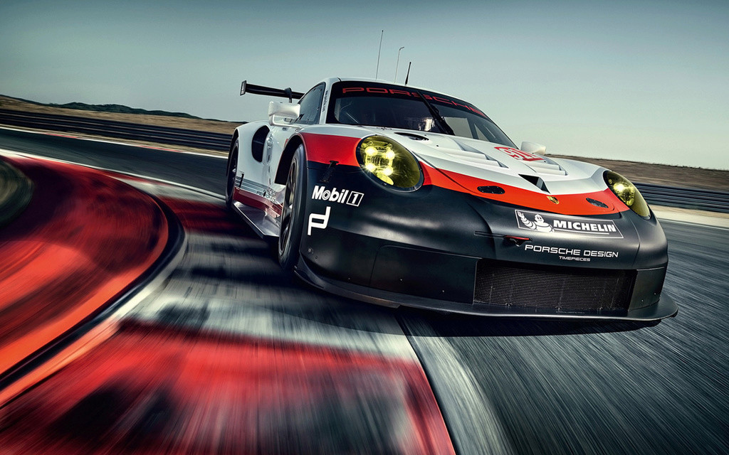 Porsche 911 RSR 2017 :une 911 à moteur central pour les 24h  2017-p37