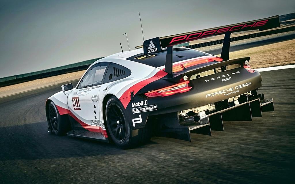 Porsche 911 RSR 2017 :une 911 à moteur central pour les 24h  2017-p39
