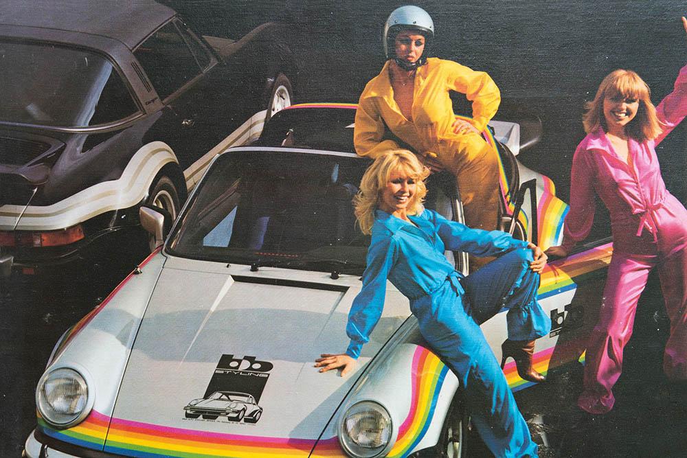 coup de jeune pour une 911T targa de 1969 - Page 3 Rainbo10