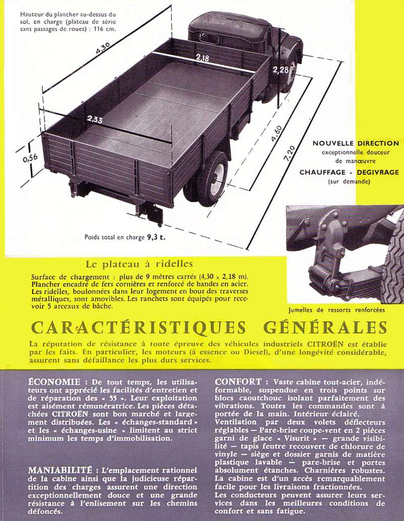 type 55 1960 benne basculante B-0210