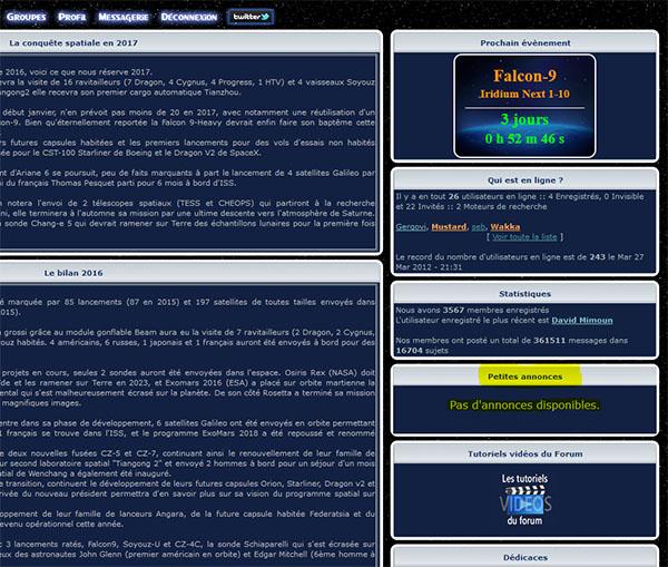 >>>[Nouveauté forum] Les petites annonces Aaa612