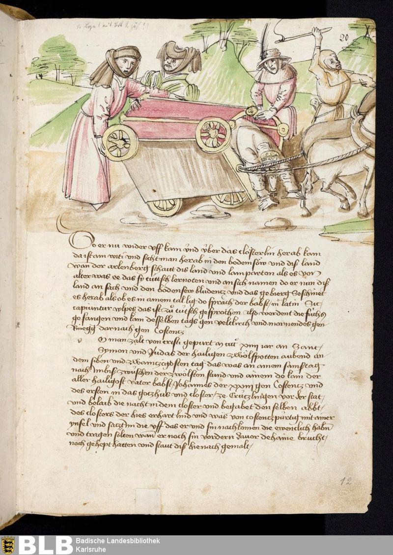 Chroniques Ulrich von Richental 1467 12r10