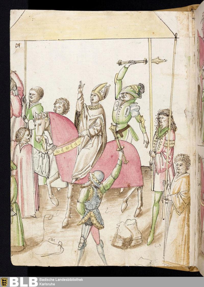 Chroniques Ulrich von Richental 1467 14r10