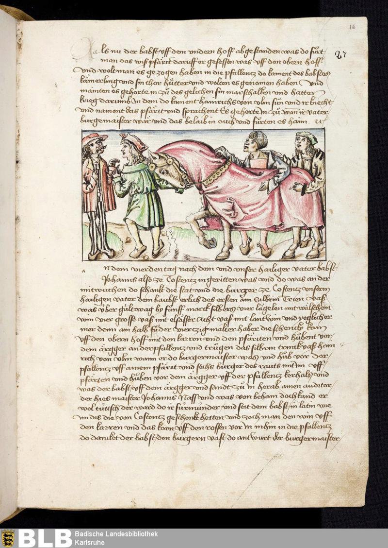Chroniques Ulrich von Richental 1467 16r10