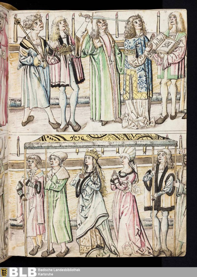 Chroniques Ulrich von Richental 1467 23r10