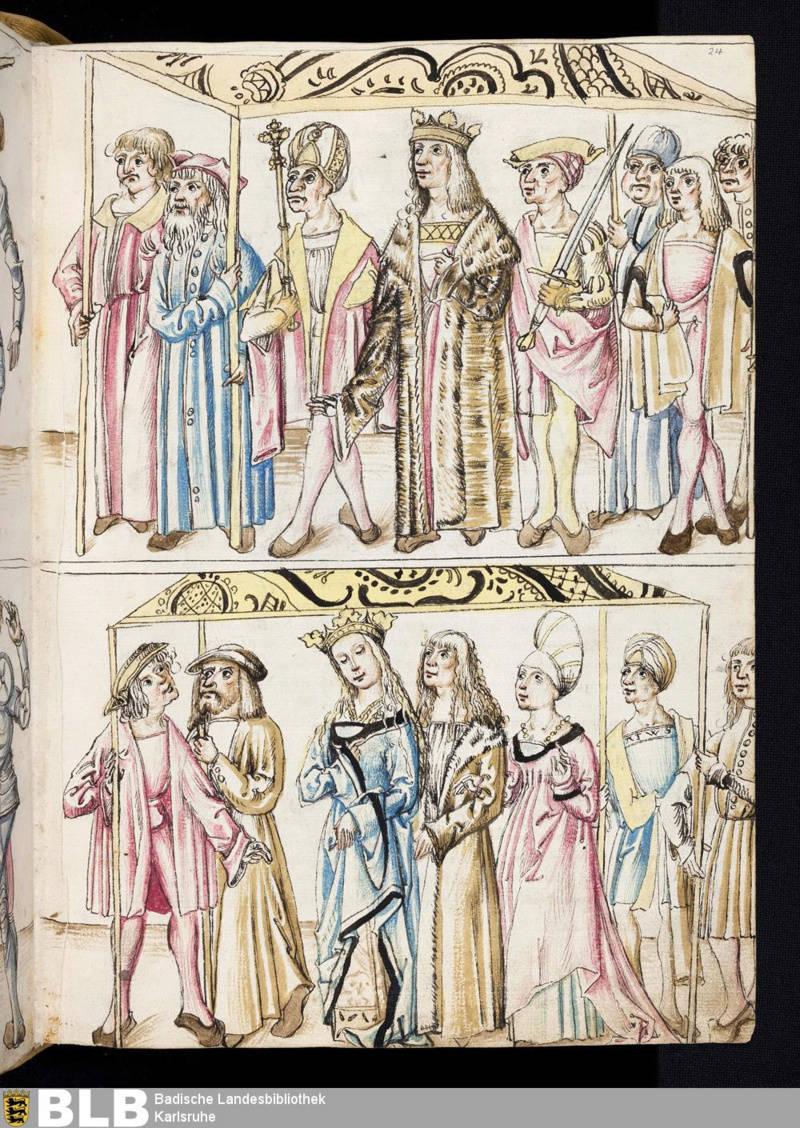 Chroniques Ulrich von Richental 1467 24r11