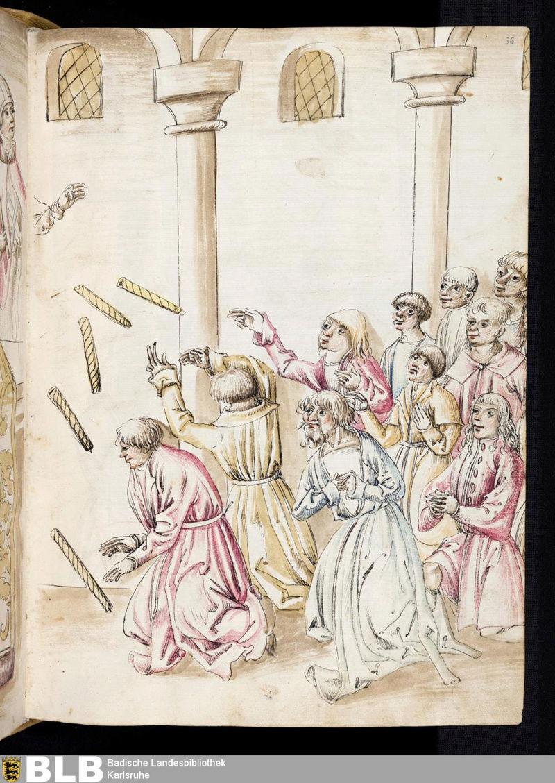 Chroniques Ulrich von Richental 1467 36r11