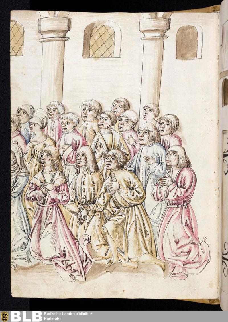 Chroniques Ulrich von Richental 1467 36v11