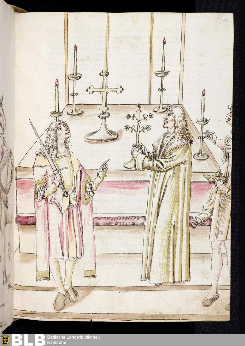 Chroniques Ulrich von Richental 1467 42r10