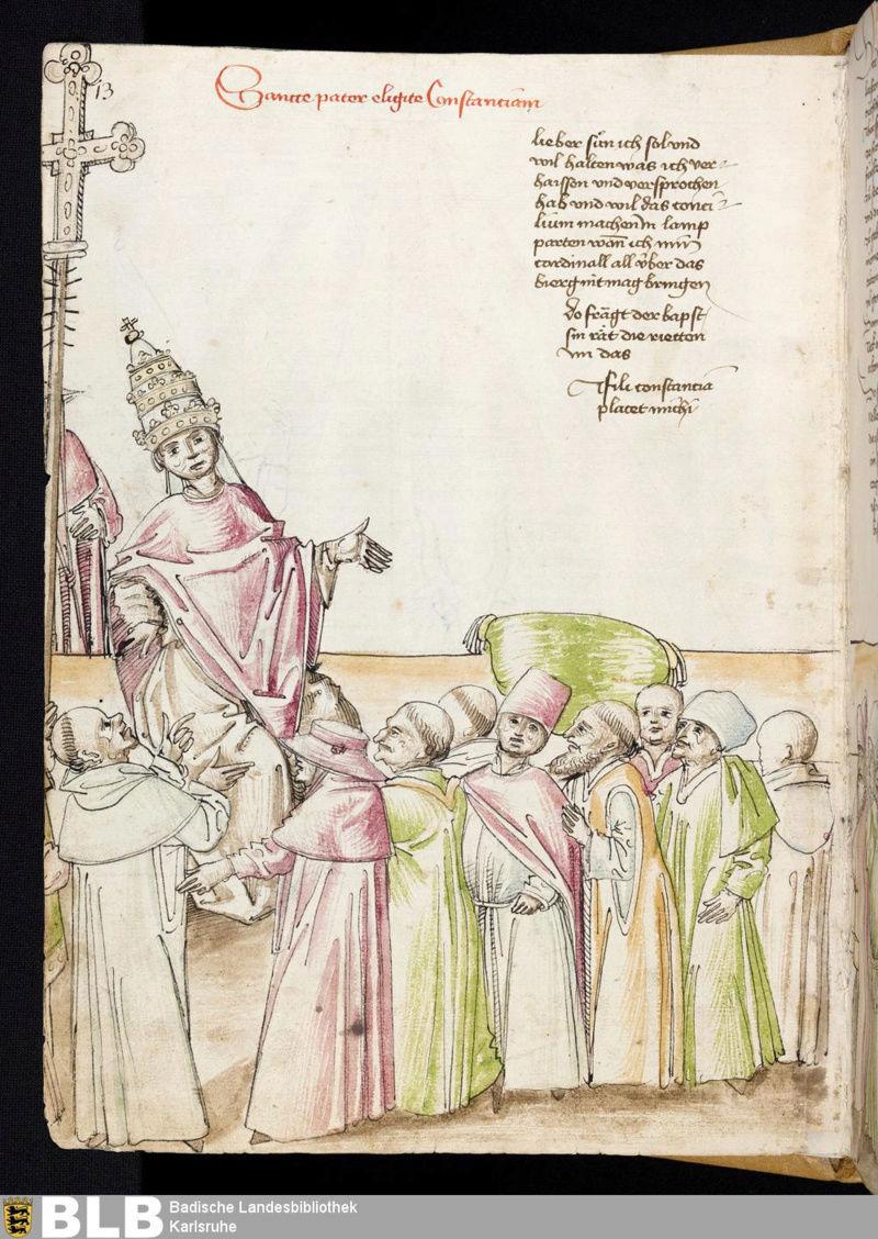 Chroniques Ulrich von Richental 1467 8v10