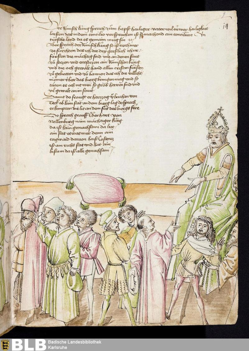 Chroniques Ulrich von Richental 1467 9r10