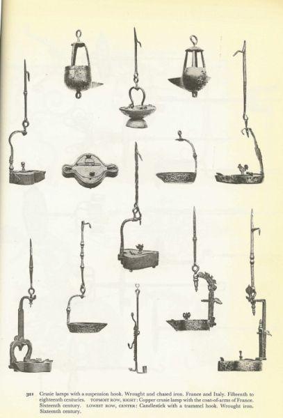 caleil - lampe à huile Caleil ou lampe bec de corbeau (italie) Caleil12
