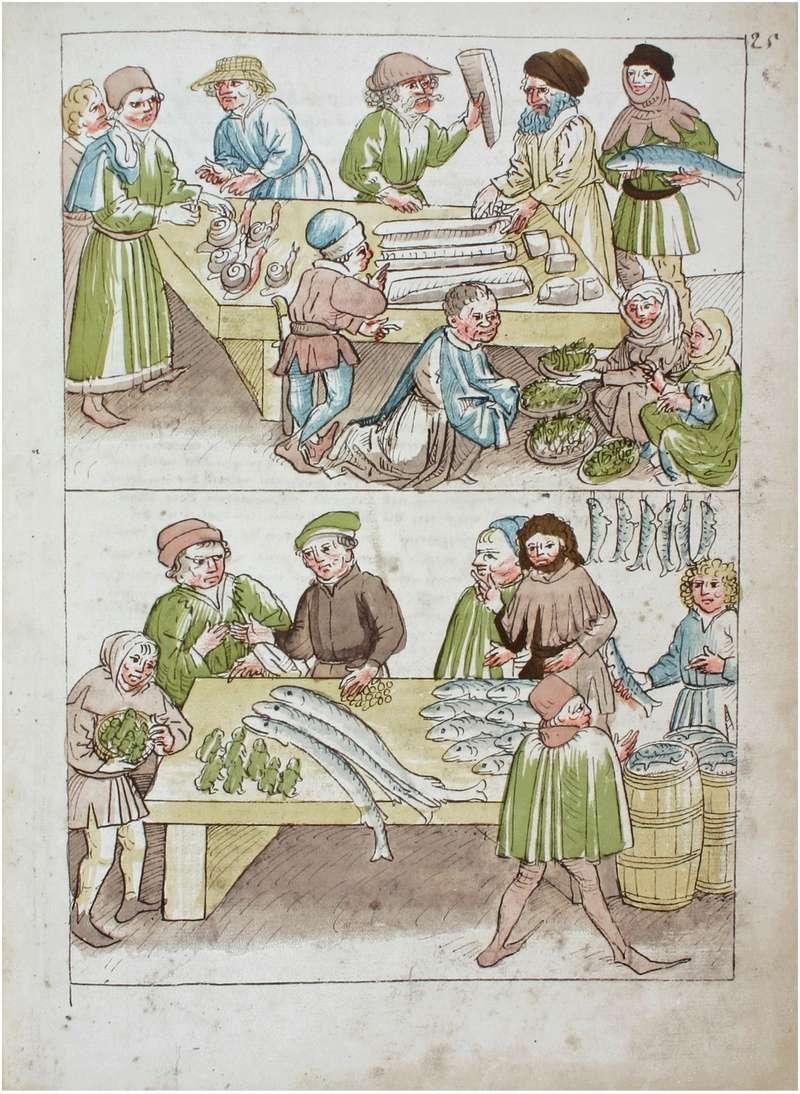 représentations de transport / stockage / vendeurs de poissons Konsta11