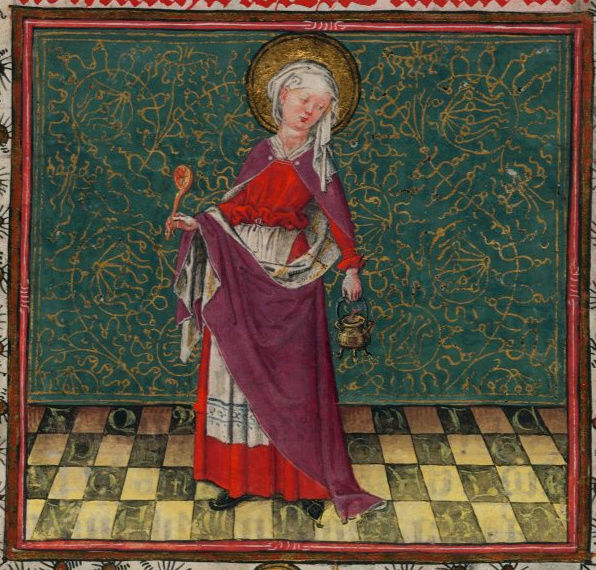 représentations de manteau mantel féminin et ou capes St_mar10