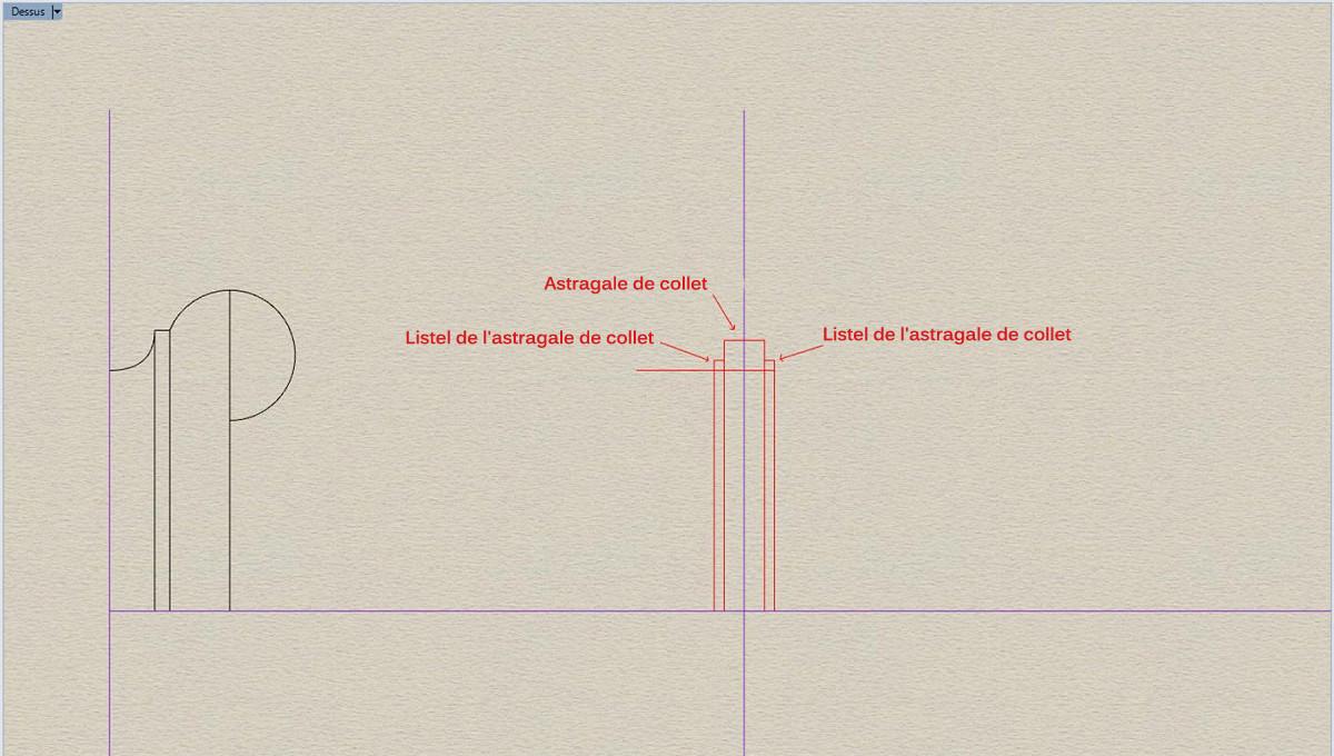 Etude et tracé d'un canon de fer selon Jean Maritz - Période 1733 à 1766 As_ast11