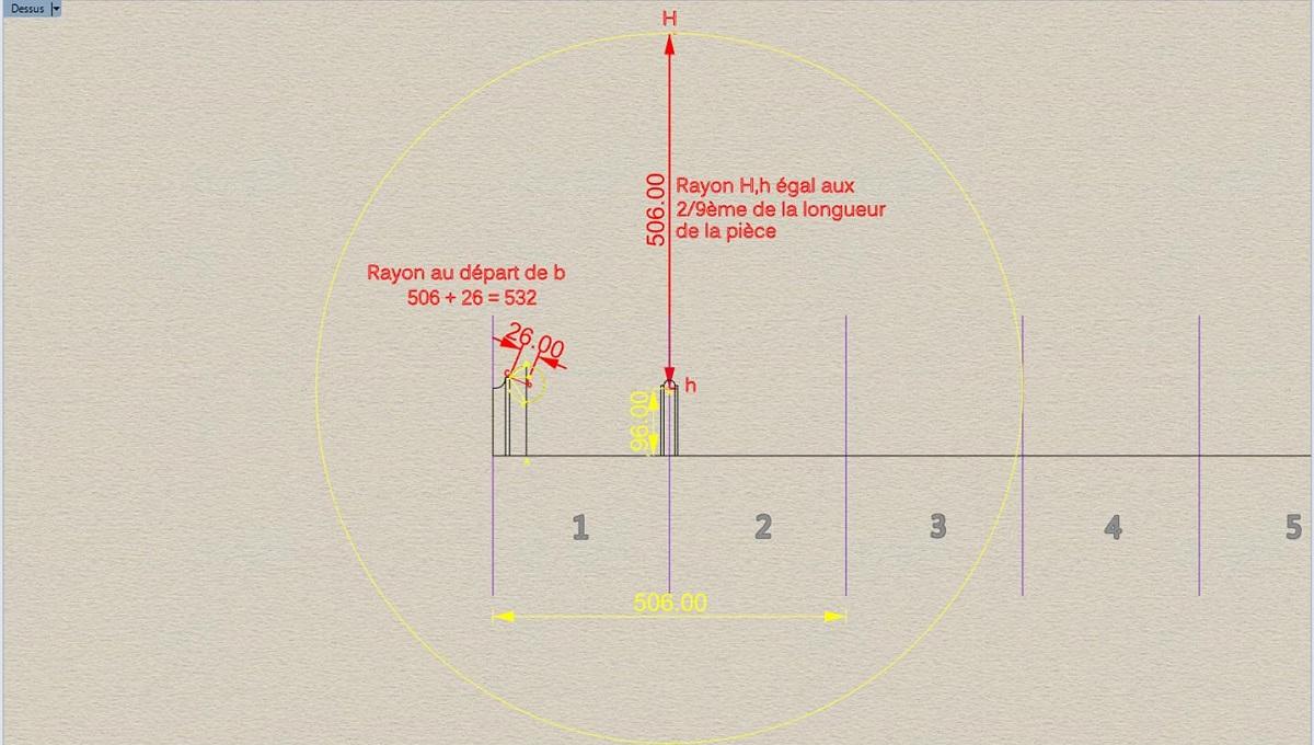 Etude et tracé d'un canon de fer selon Jean Maritz - Période 1733 à 1766 Aw_col10