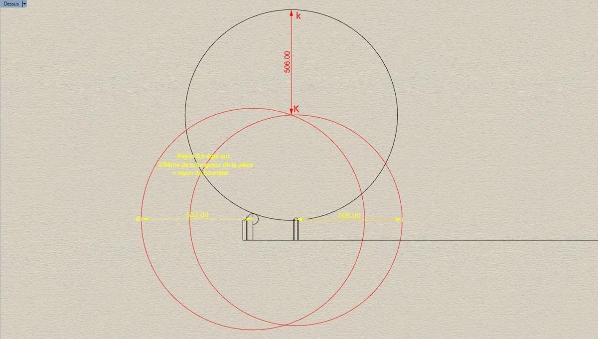 Etude et tracé d'un canon de fer selon Jean Maritz - Période 1733 à 1766 Ay_col10