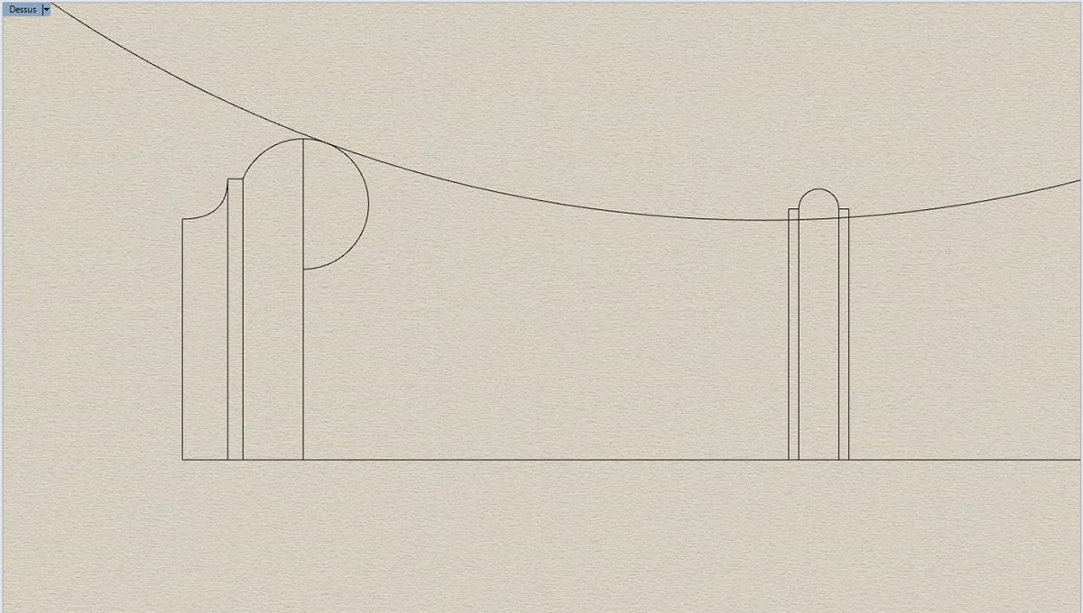 Etude et tracé d'un canon de fer selon Jean Maritz - Période 1733 à 1766 Az_col10