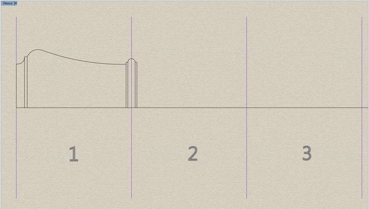 Etude et tracé d'un canon de fer selon Jean Maritz - Période 1733 à 1766 Bc_tra10