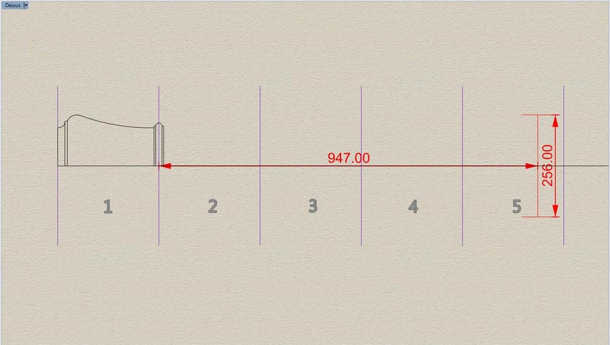 Etude et tracé d'un canon de fer selon Jean Maritz - Période 1733 à 1766 Be_vol10