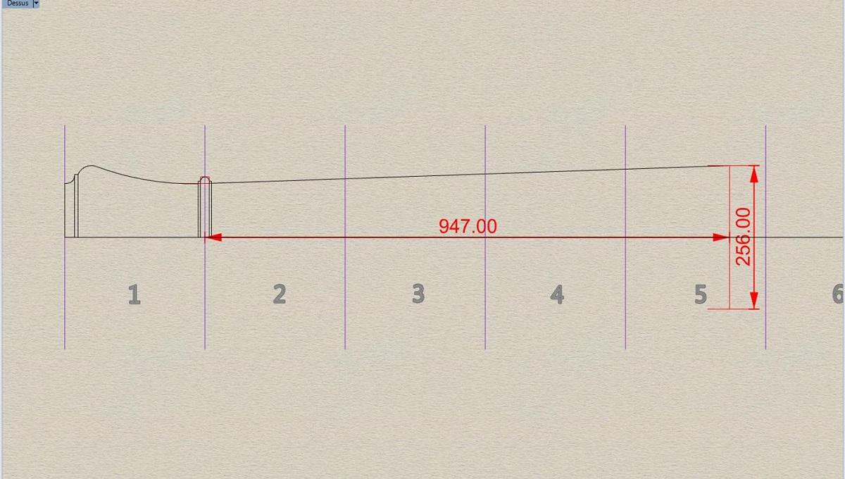 Etude et tracé d'un canon de fer selon Jean Maritz - Période 1733 à 1766 Bf_vol10