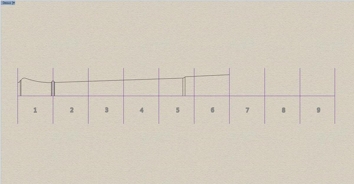Etude et tracé d'un canon de fer selon Jean Maritz - Période 1733 à 1766 Bk_ren11