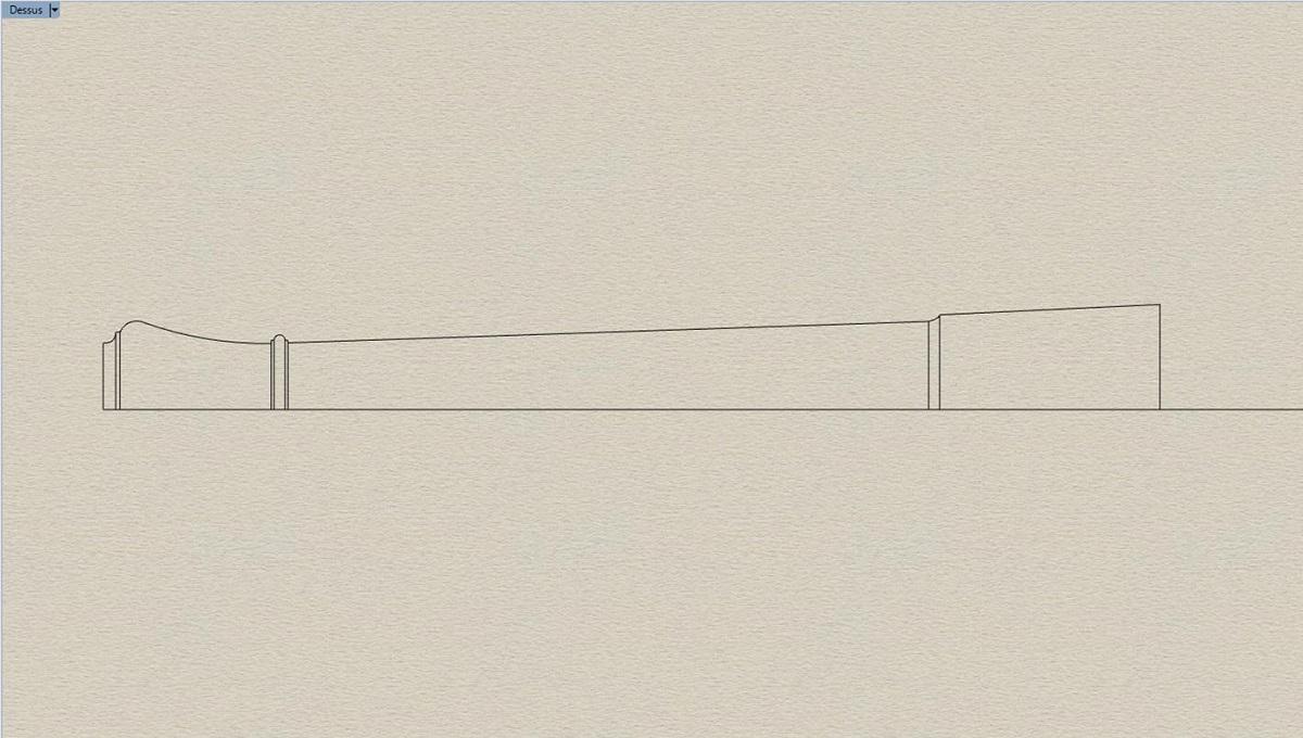 Etude et tracé d'un canon de fer selon Jean Maritz - Période 1733 à 1766 Bn_gor10